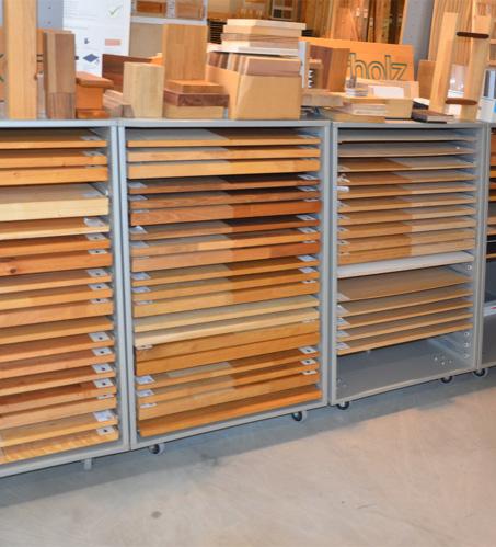Entdecke die Ausstellung von Holz-Wiegand in Würzburg.