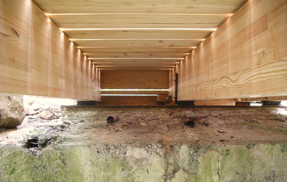 Konstruktionsholz zum Bauen von Holz-Wiegand in Würzburg.