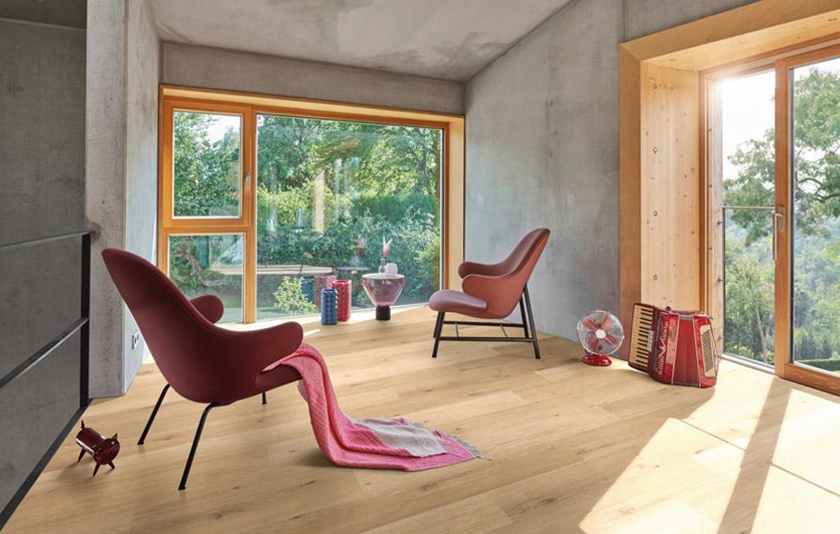 Holz-Wiegand in Würzburg erklärt Dir, wie Du Vinylboden richtig verlegst.