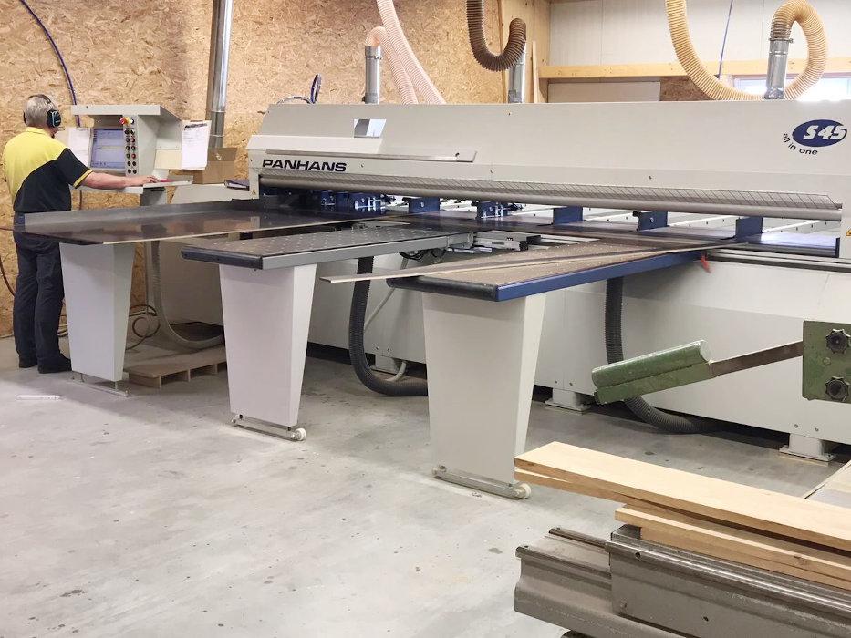 Holzbearbeitung Zuschnitt