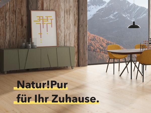 Tilo Parkett Natur!Pur bei Holz-Wiegand in Würzburg.