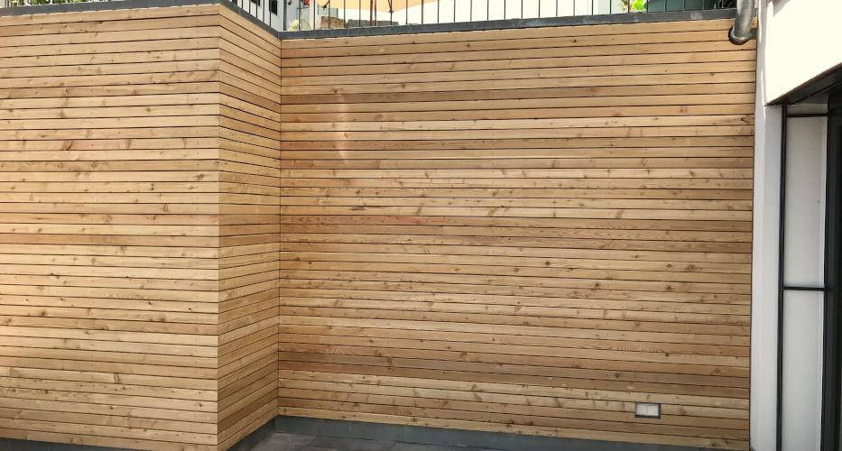 Fassadenverkleidung Sibirische Lärche - Holz-Wiegand in Würzburg